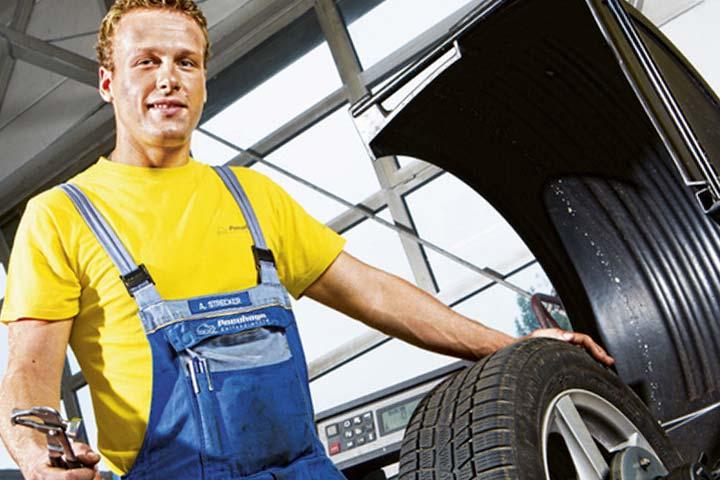 Mechaniker/-in für Reifen und Vulkanisationstechnik